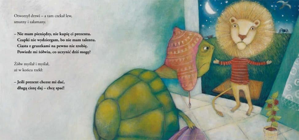 O żółwiu, który chciał spać