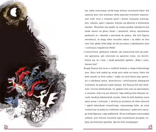 Opowieści z zaczarowanego lasu. Minotaur książka