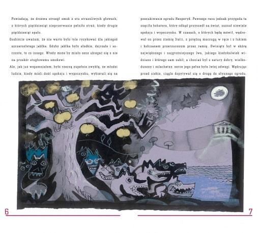 Opowieści z zaczarowanego lasu. Trzy złote jabłka / książka