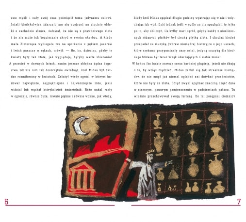 Opowieści z zaczarowanego lasu. Złotodajna moc / książka