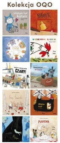 Kolekcja OQO - 10 książek !