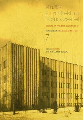 Studia z Architektury Nowoczesnej, tom 7