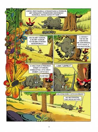 Dymki z Tintina, jak dymek z komina