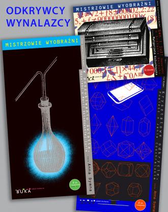 Mistrzowie wyobraźni / PAKIET ODRYWCY WYNALAZCY: Skłodowska-Curie + Banach + Czochralski