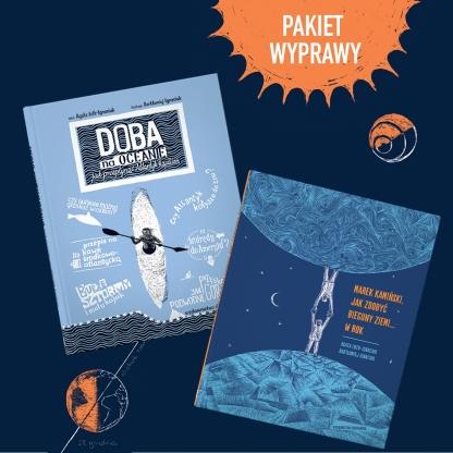 Pakiet Wyprawy Doba na oceanie + Marek Kamiński