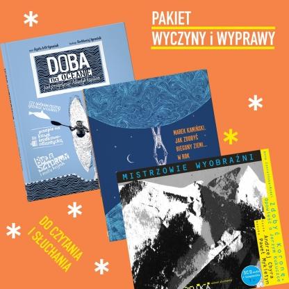 Pakiet Wyczyny i Wyprawy Doba + Kamiński + Kukuczka