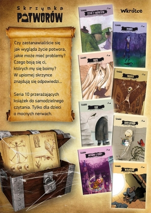 Skrzynka potworów (10 książek z pudełkiem)